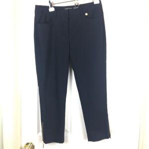 Ivan's Trump Navy Blue Capri Pants